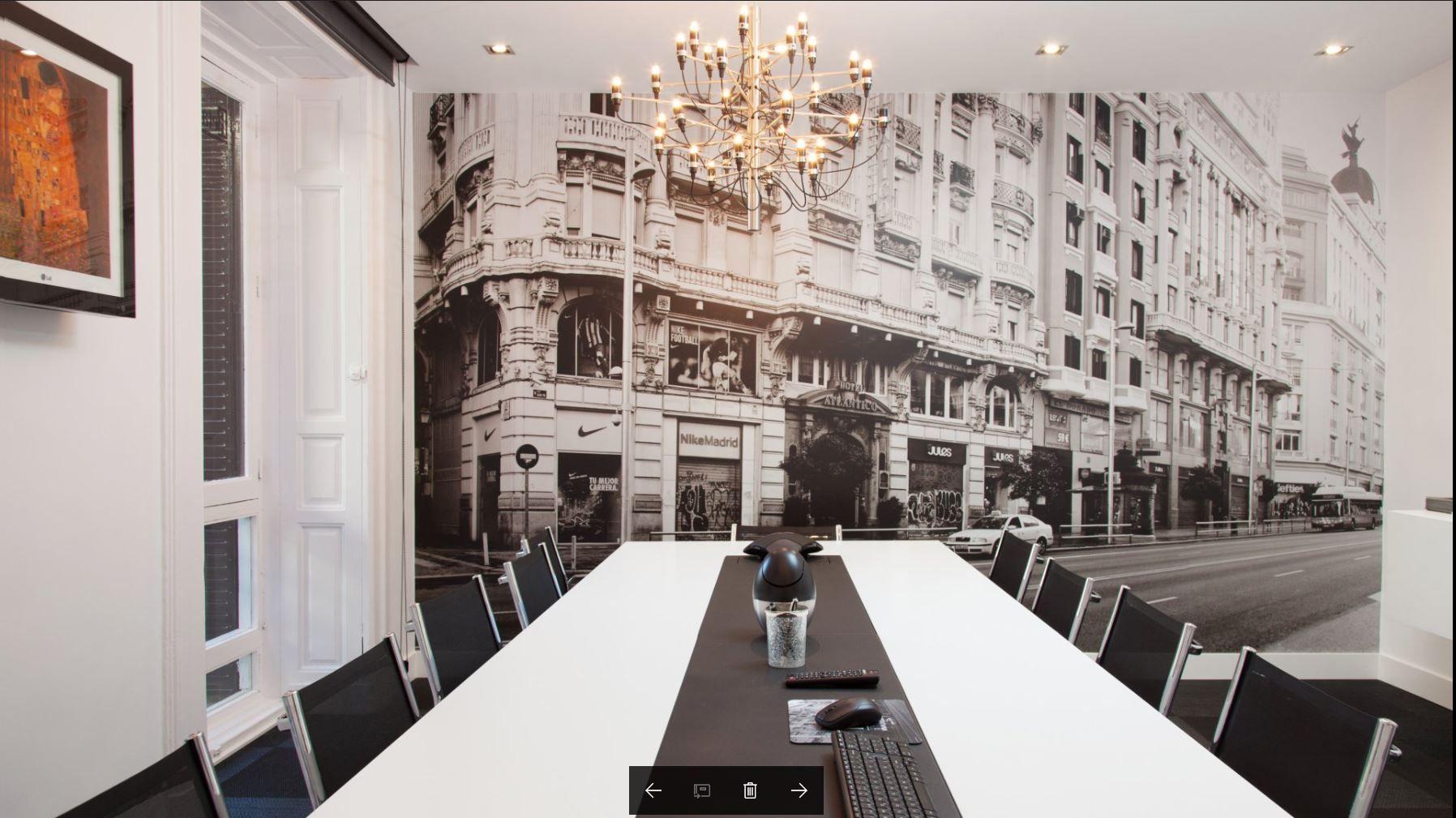Fotografia Sala de reuniones