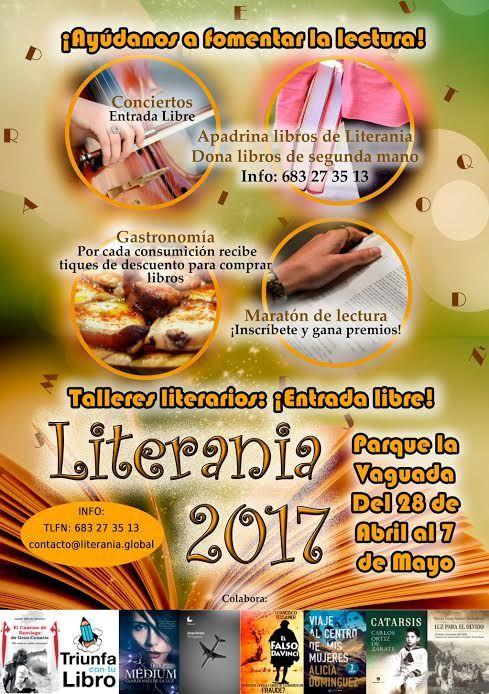 Fotografia LITERANIA 2017, fusión de expresiones culturales, en