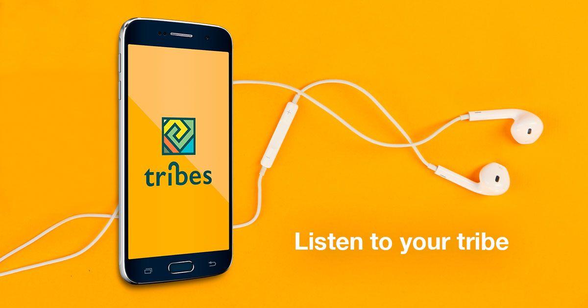 Fotografia Tribes music app
