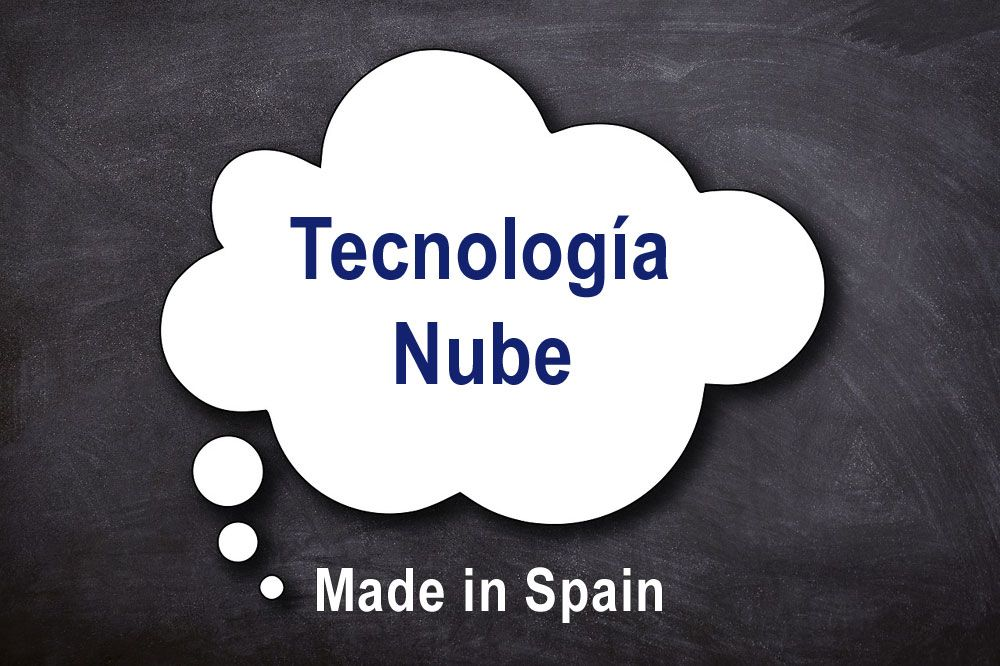 Fotografia Tecnología Cloud - Made in Spain