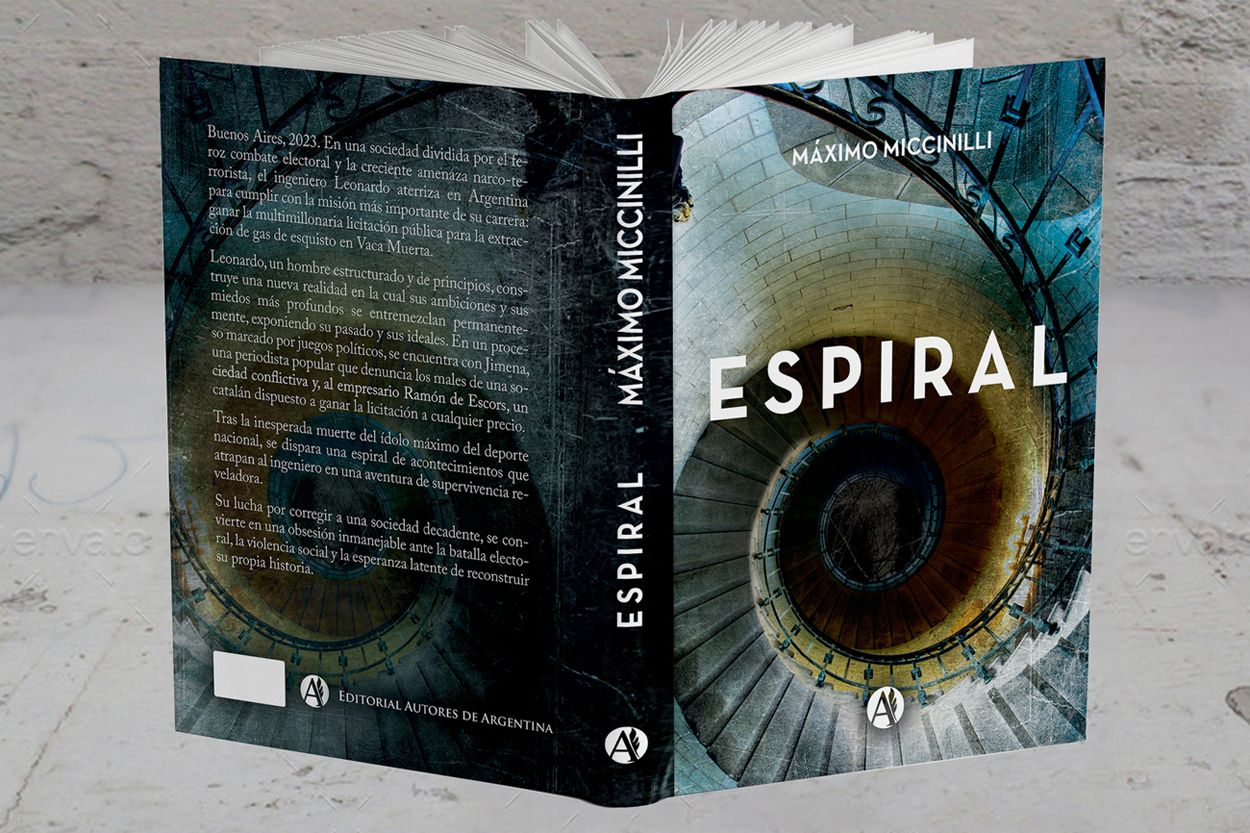 "Fotografia ""Espiral"", novela política shock"