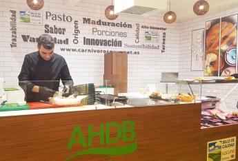 AHDB Beef&Lamb en Salón de Gourmets