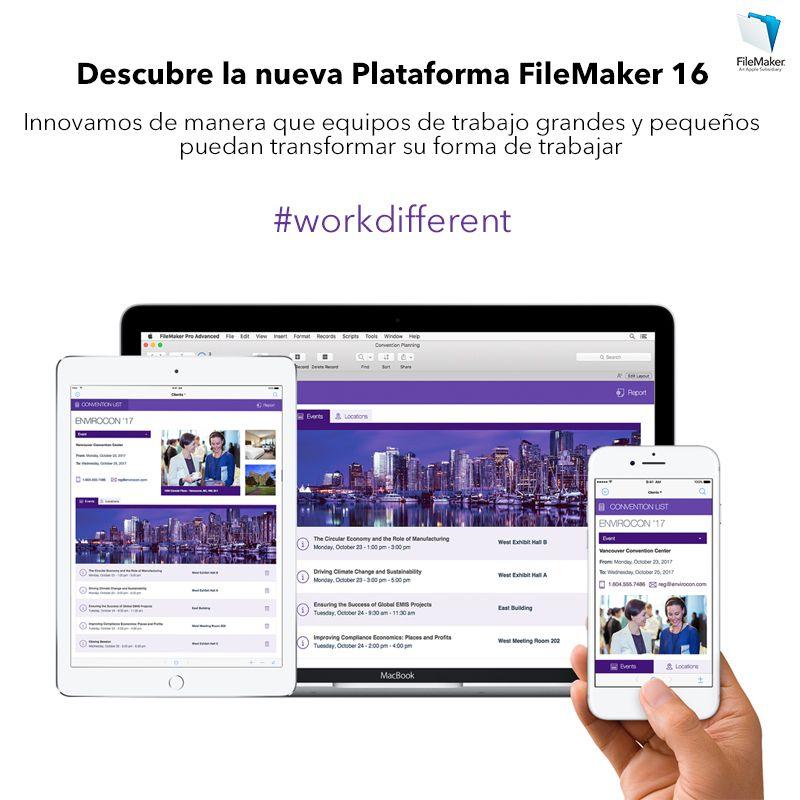 Fotografia Nueva Plataforma FileMaker 16