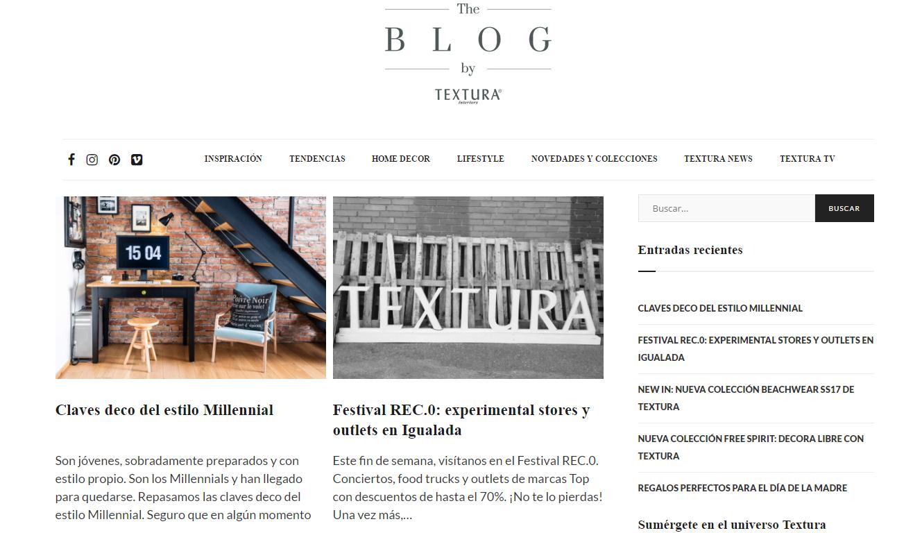 Fotografia Blog de Textura Interiors