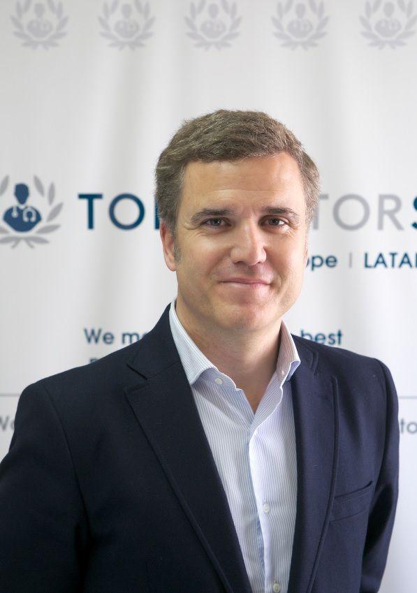 Pablo de Porcioles se une a Top Doctors como Chief Commercial Officer para Europa