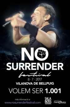 Cartel del 'No Surrender Festival'