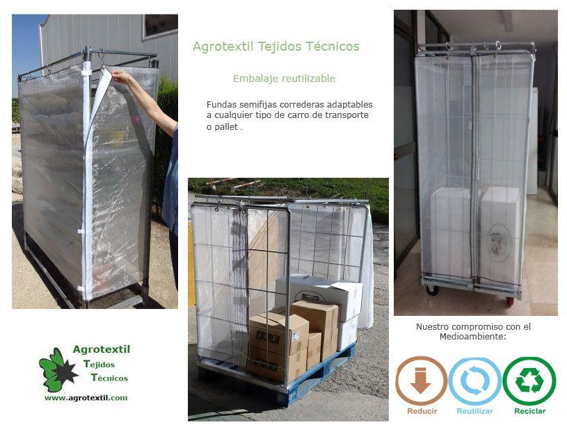 Fotografia Embalaje reutilizable para transporte de mercancías