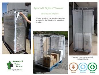 Embalaje reutilizable para transporte de mercancías