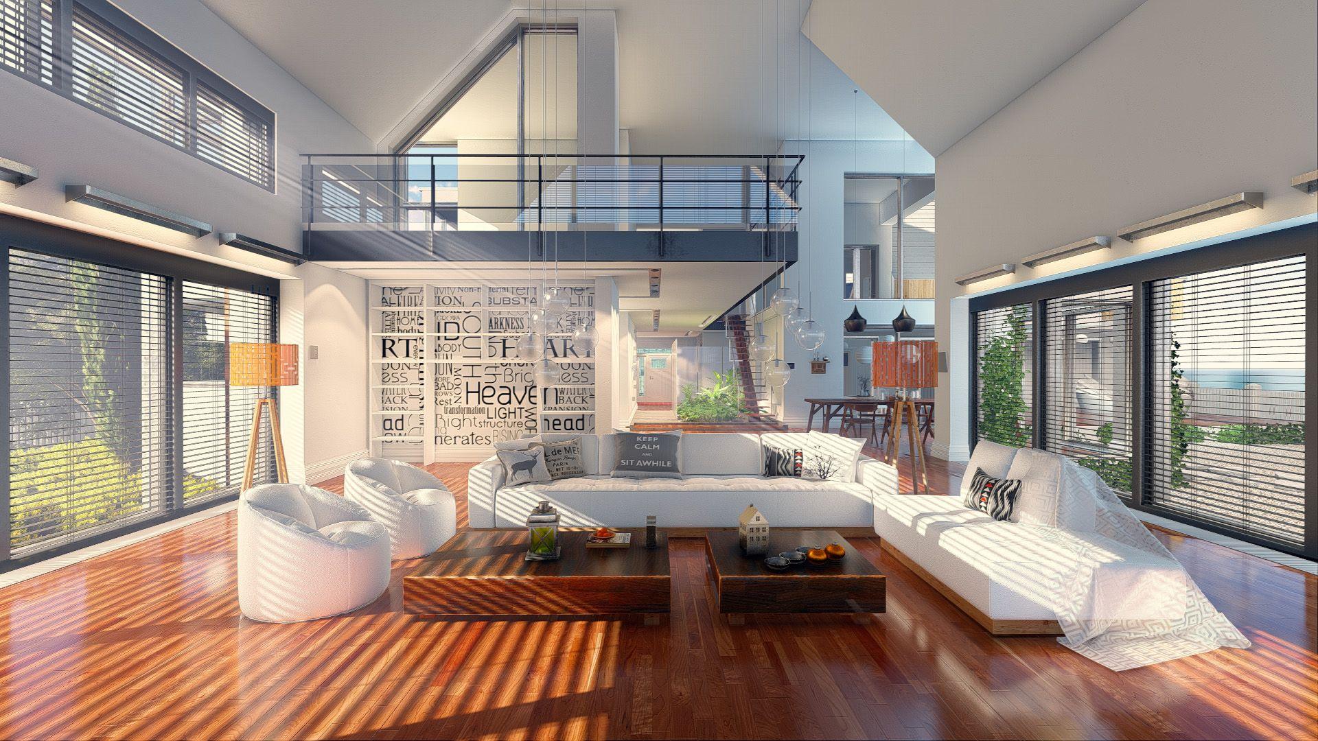 Fotografia Render de espacios interiores con Lumion