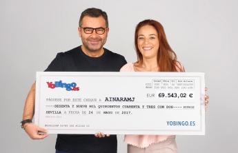 Entrega del cheque