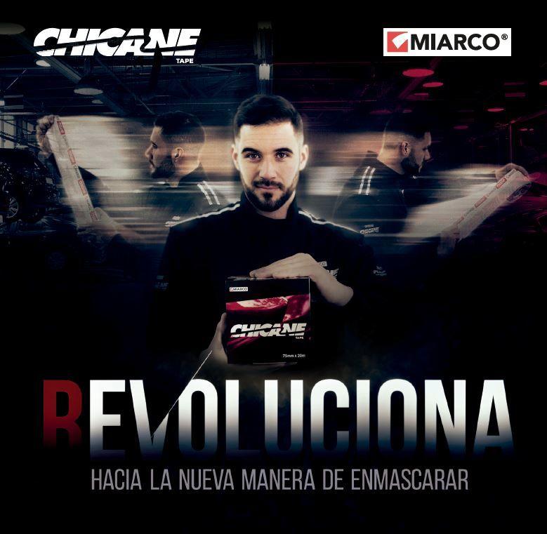 Miarco presenta su nueva cinta de enmascarado patentada: Chicane