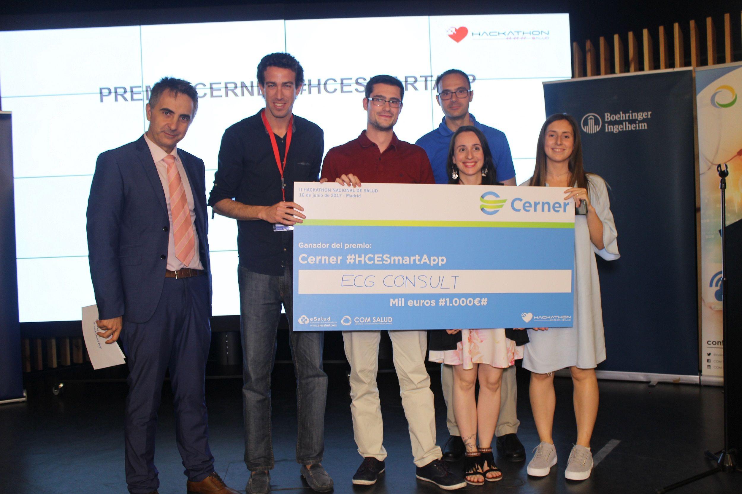 Fotografia Ganadores Premio HCESmartApp