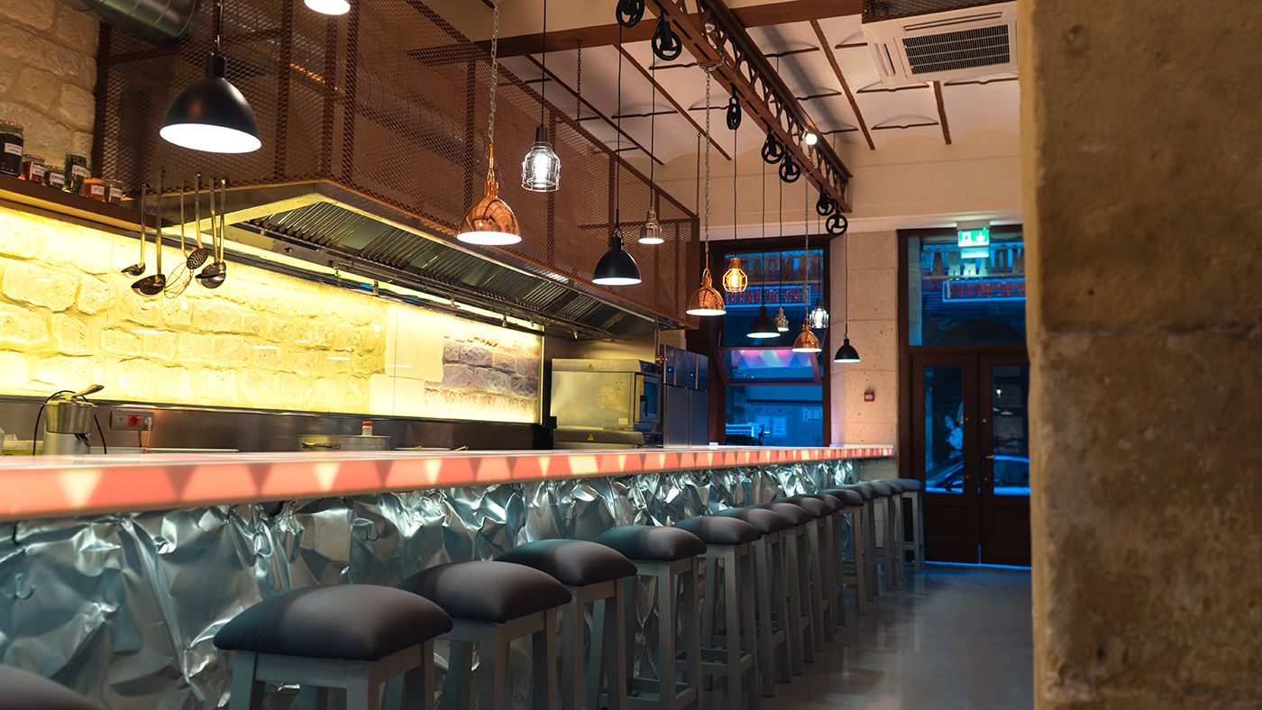 Fotografia Interior de Bandarra Bar de Barra