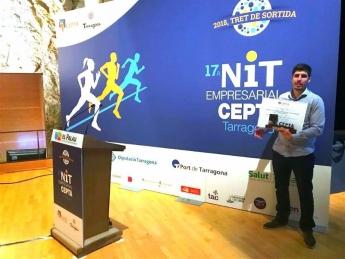 Entrega de Premio a la Innovación y Nuevas Tecnologías de CEPTA