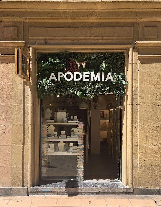 APODEMIA abre su primera tienda en Bilbao