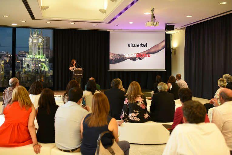 El Cuartel presenta en el CBA de Madrid su nueva identidad corporativa y su concepto Boom Brand