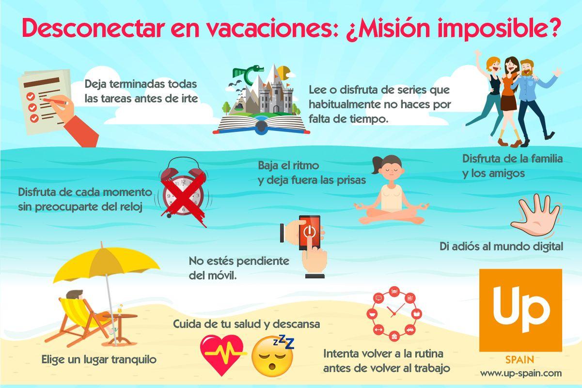 Fotografia Infografía vacaciones