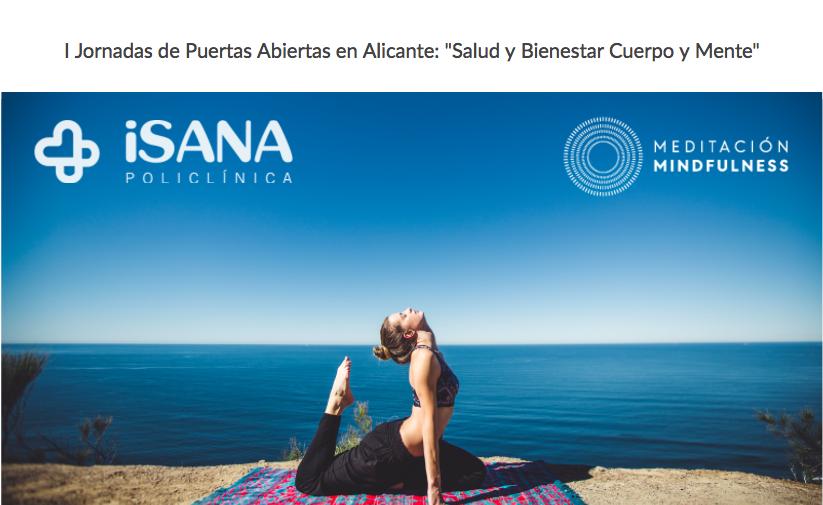 Fotografia Jornadas Salud y Bienestar, Cuerpo y Mente