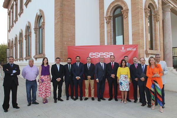 Fotografia Autoridades asistentes al evento