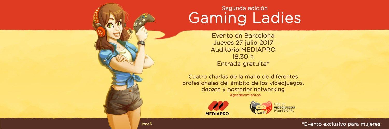Gaming Ladies, el evento solo para mujeres, que tuvo que cancelarse por acoso machista, ya tiene fecha