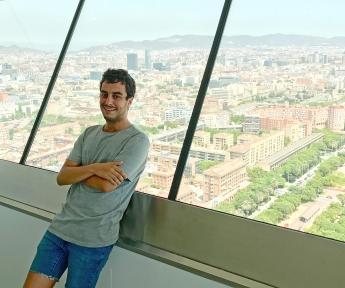 Luis García, ganador de #LaBecaDeMiVida