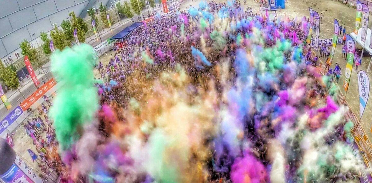 Fotografia Holi Run Zaragoza