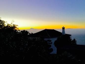 Wellness island sunrise
