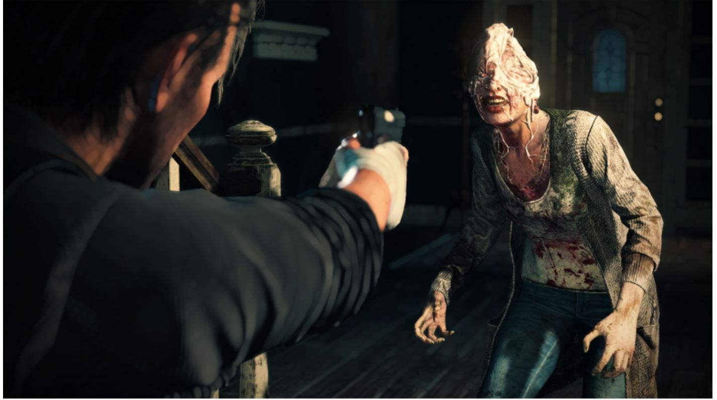 Fotografia Imagen del videojuego The Evil Within 2.