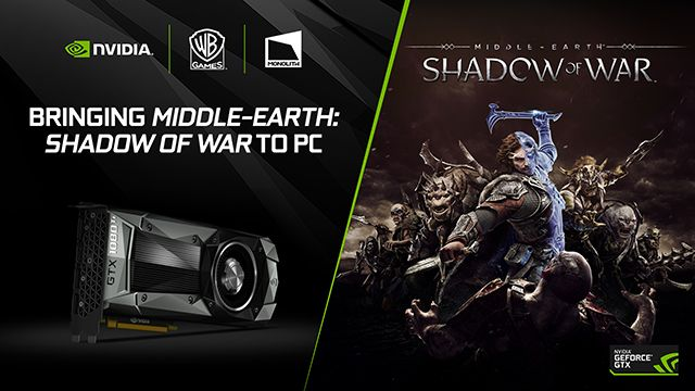 A, Monolith Productions y Warner Bros. Interactive Entertainment unen sus fuerzas en Middle-earth: Shadow of War para PC