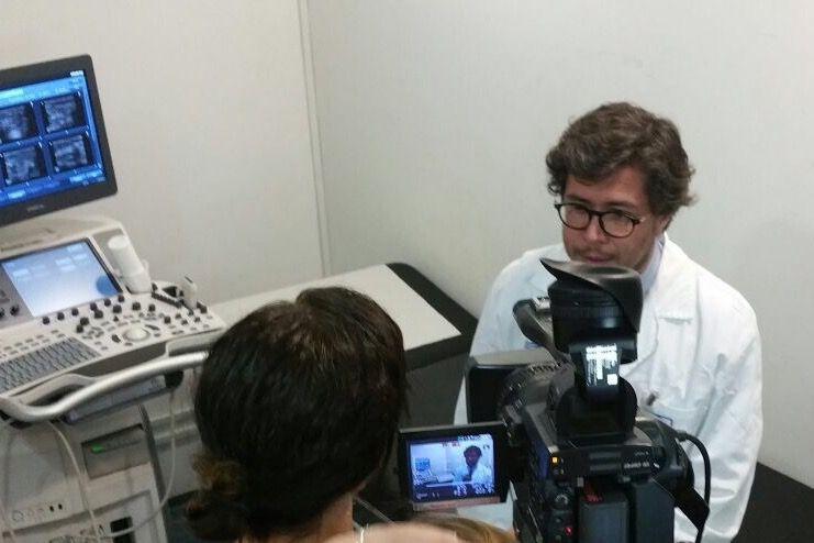 Fotografia Entrevista medios de prensa