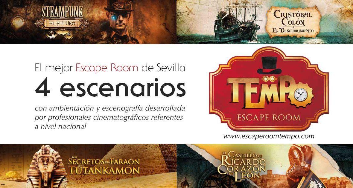 Fotografia Tempo escape room en Sevilla