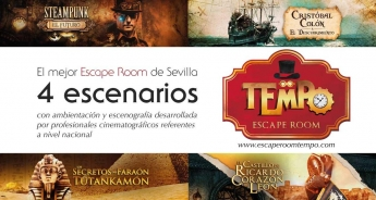 Tempo escape room en Sevilla