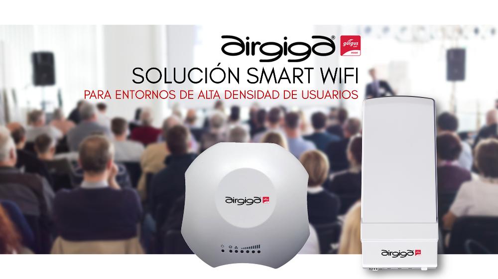 Landatel y Galgus apuntan al mercado de redes Wi-fi de alta densidad de usuarios