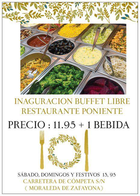Fotografia inaguracion buffet libre