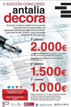 II Edición Concurso Antalia Decora