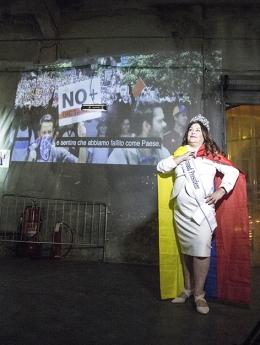 Nina Dotti presenta Help Venezuela