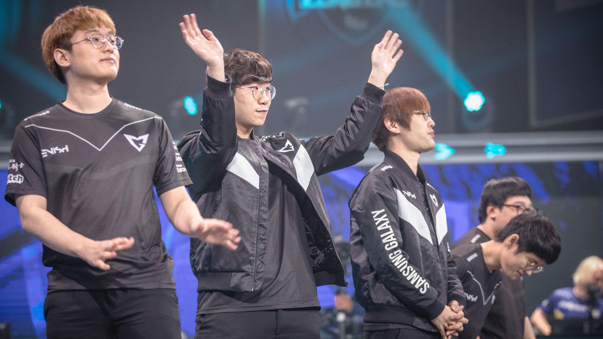 Fotografia Samsung Galaxy eSports