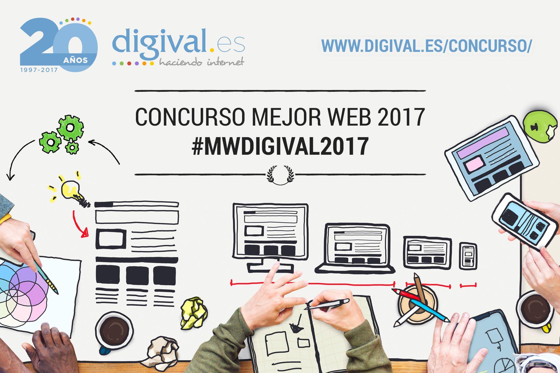 Llega el concurso Mejor Web Digival.es 2017