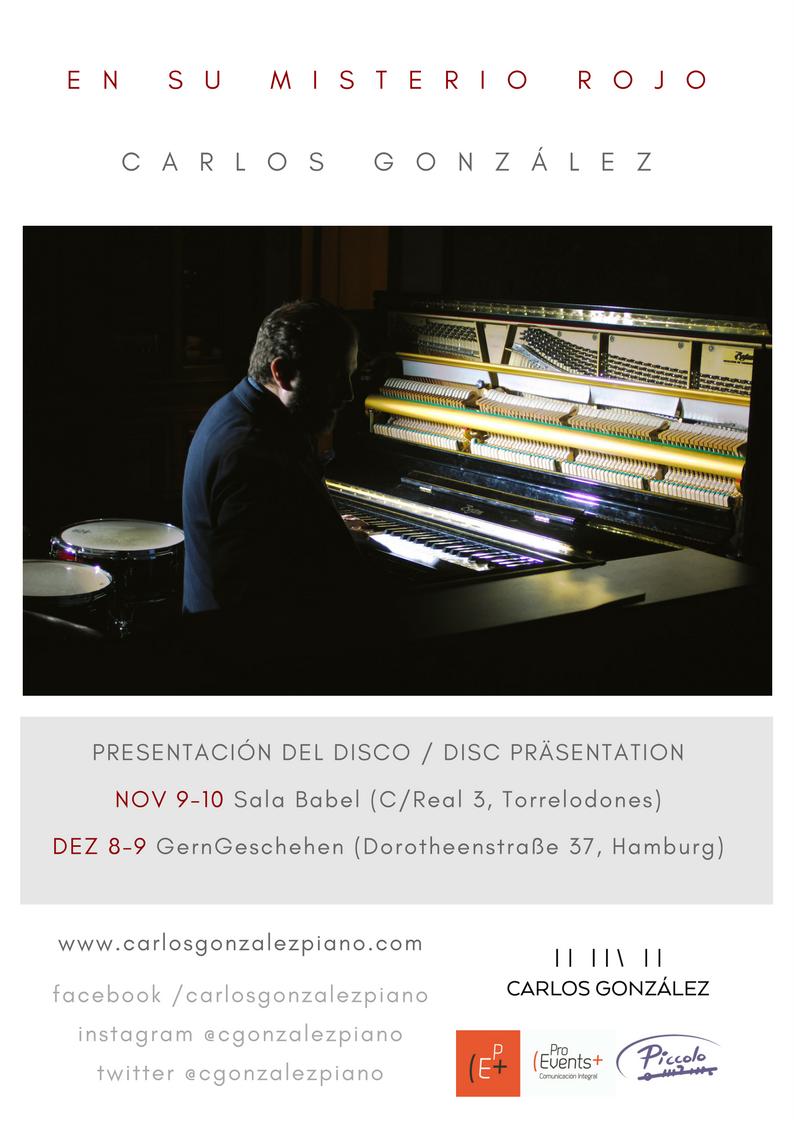 Fotografia Presentación 'En su misterio rojo' Carlos González