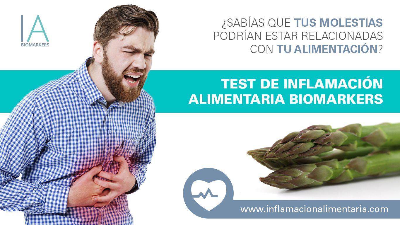Fotografia Test Inflamación Alimentaria Biomarkers