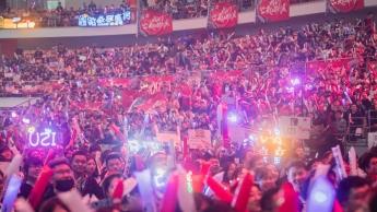 Público en la Final de Worlds 2016