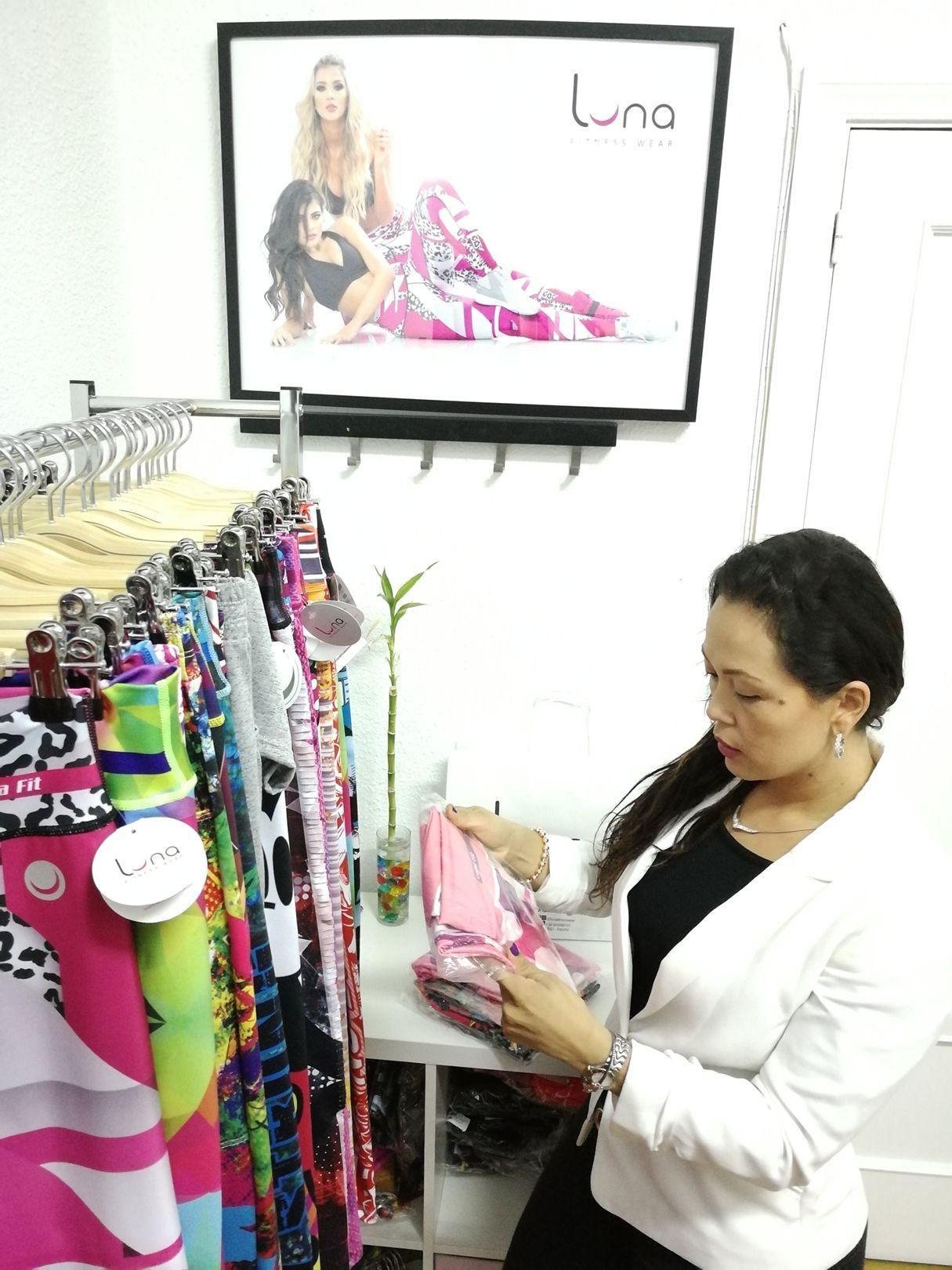 Fotografia Lina Martínez en su showroom