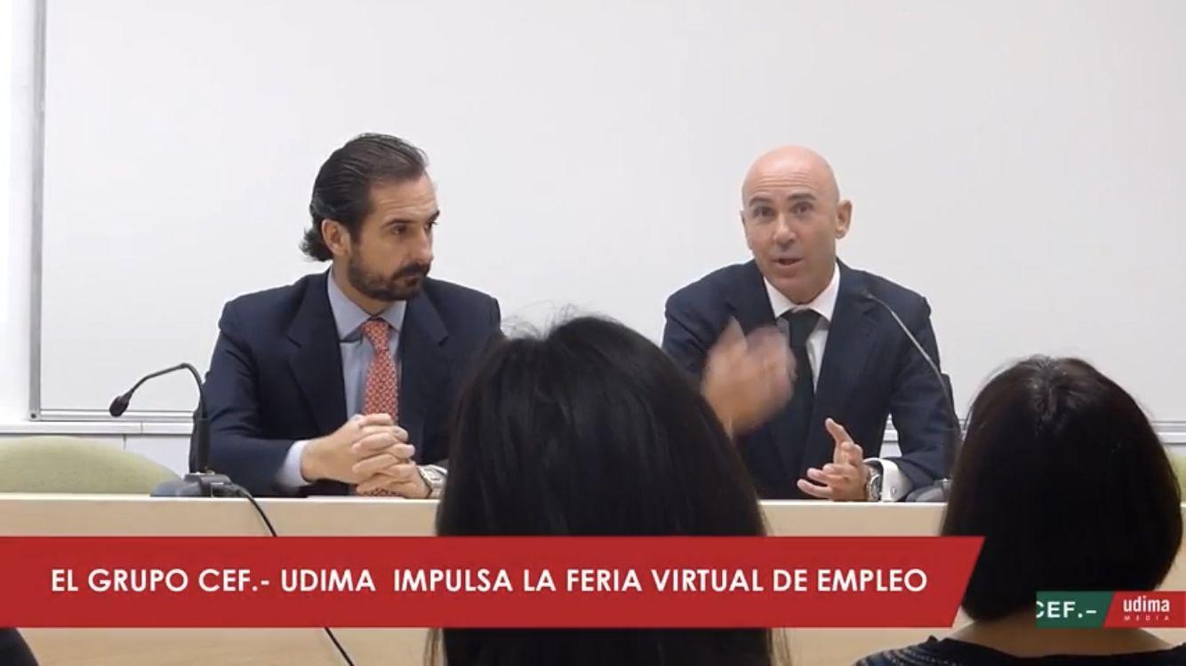 El Grupo CEF.- UDIMA convoca la I Feria Virtual de Empleo