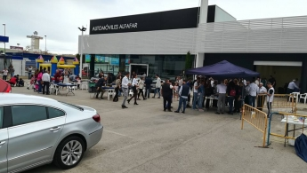 Automoviles Alfafar celebra 25 años de Opel en Valencia
