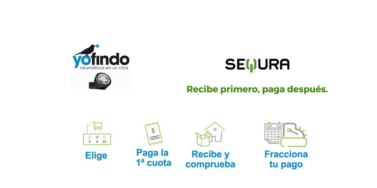 Yofindo incorpora la plataforma 'seQura' para permitir el pago fraccionado