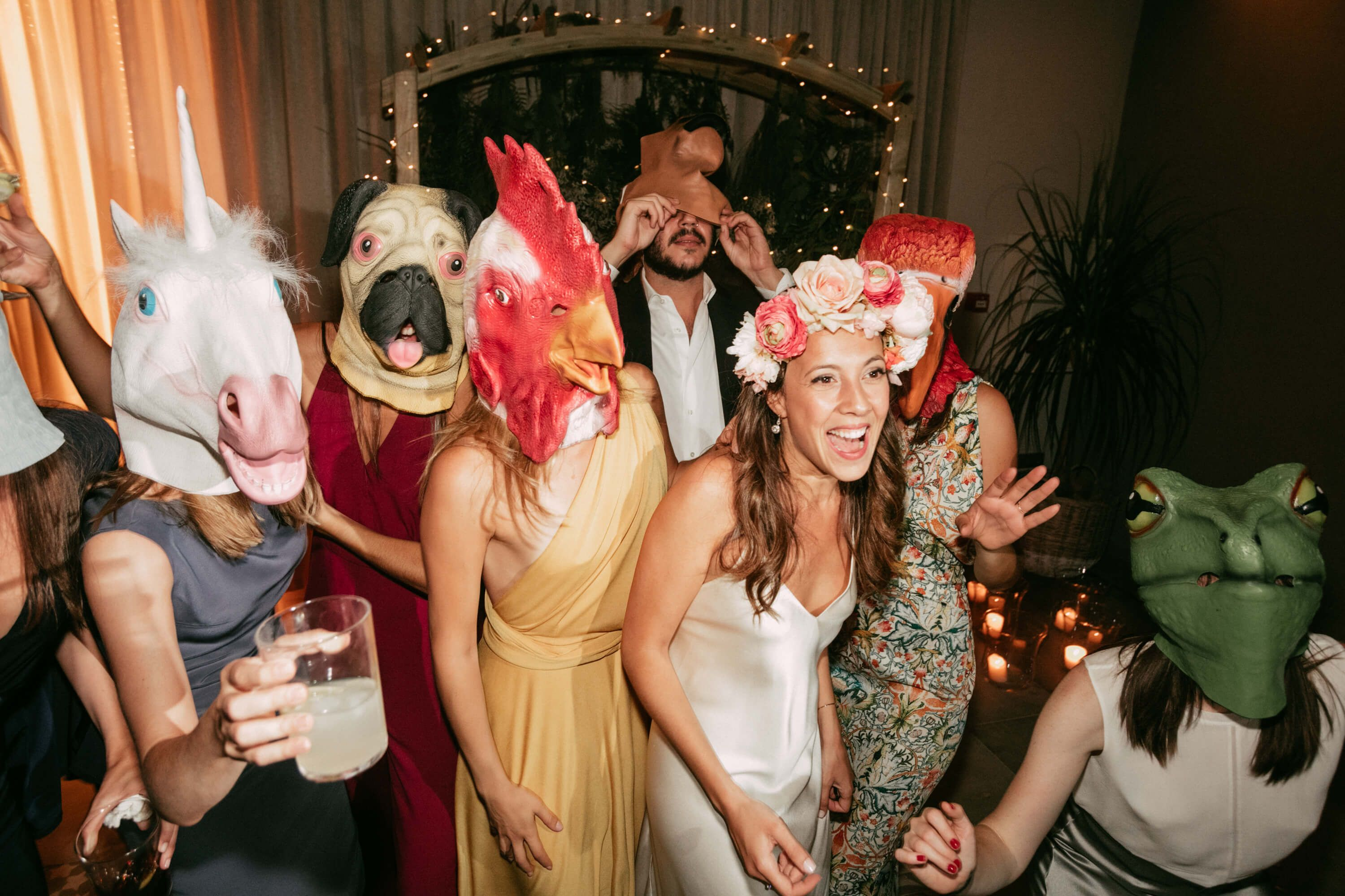Fotografia Animal Mask Party
