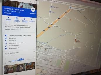 Google My Business - Tiempo de espera en un restaurante