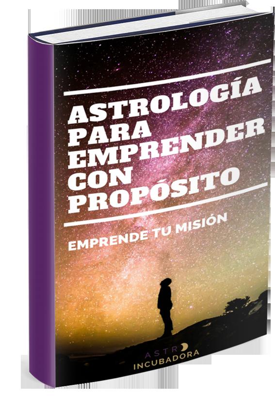 Fotografia Portada libro Astrología para emprender con propósito