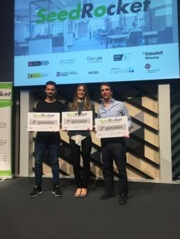 Ganadores XVIII Campues Emprendedores SeedRocket