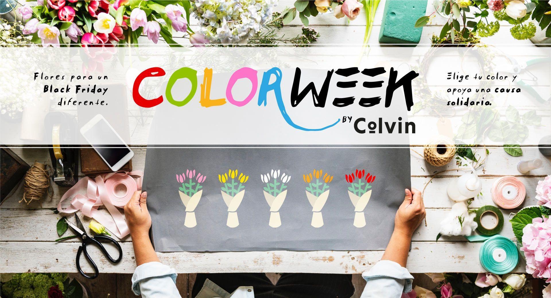 ColorWeek: flores para un Black Friday diferente